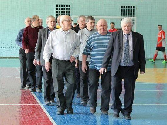 Пенсионеры области жалуются на недостаток спортивной жизни