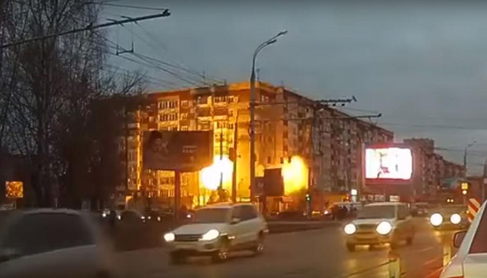 В Ижевске обвалился жилой дом: страшные кадры