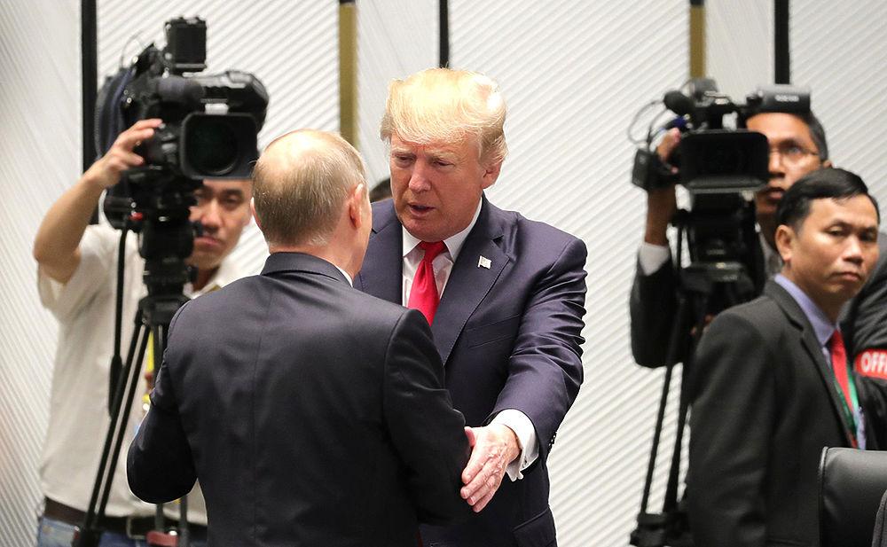 Путин и Трамп договорились о Сирии на пальцах
