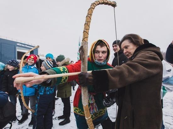 В Югре проходит фестиваль этноспорта «Игры народов России»