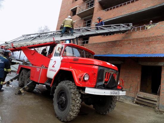 В Саранске при обрушении новостройки погибли рабочие