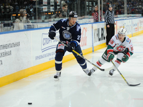 13 ноября «Ак Барс» сразится в Минске с «Динамо»