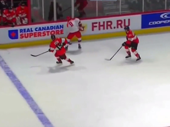 Молодежная сборная России проиграла команде из Канады в Суперсерии