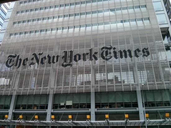 NYT отказалась переделывать карту с российским Крымом по просьбе Киева