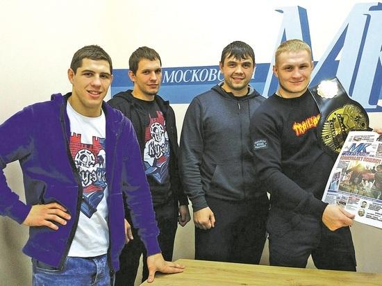 Именитые бойцы по смешанным единоборствам сразились с журналистами «Екатеринодара»