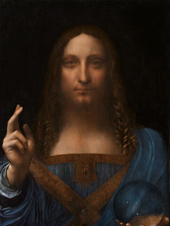 Картина Леонардо да Винчи «Спаситель мира» продана на аукционе в Нью-Йорке
