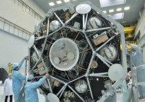Конструкторский макет десантного модуля для посадки на Марс российской посадочной платформы и европейского марсохода был впервые испытан в сборочном цехе НПО им