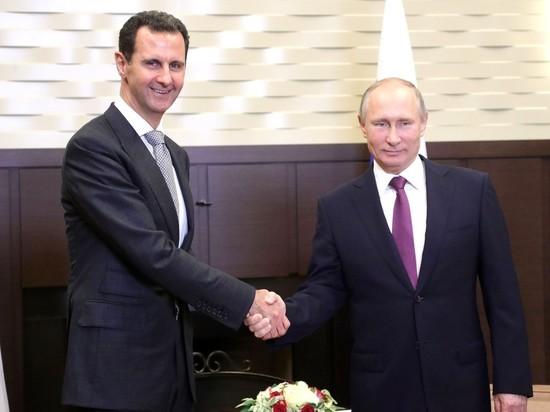 Президент встретился с Башаром Асадом