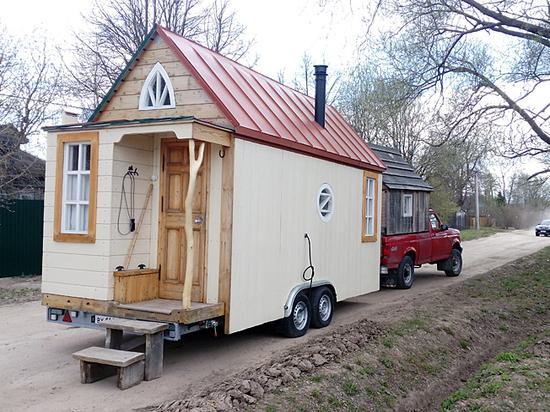Купить домик на колесах и забыть про коммунальные платежи