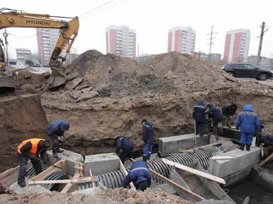 Четверть населения Улан-Удэ сидела без воды, туалета и обеда 55 часов 10 минут