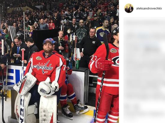 Овечкин прервал безголевую серию в НХЛ, а