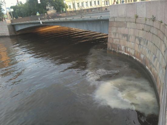 В центре Петербурга  содержимое унитазов стекает прямо в реки и каналы
