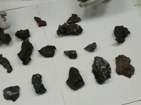 Китаец пытался вывезти из России 47 кусочков метеорита