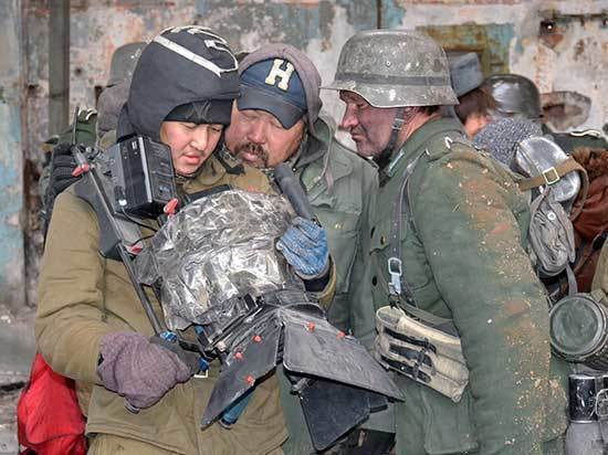 Кадры битвы за Сталинград Солболн Лыгденов снимал в городе на Ангаре