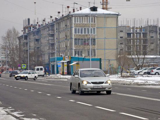 Глава Тувы проверил качество новой дороги на Ангарском бульваре