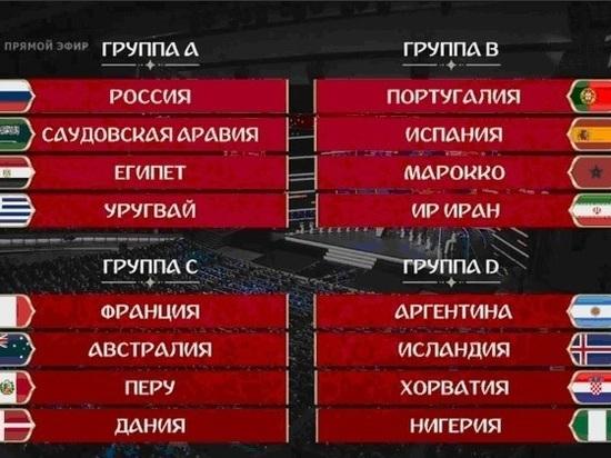 На ЧМ в Волгограде сыграют Англия, Тунис, Египет и другие сборные
