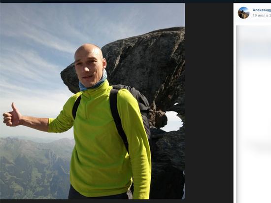 Накануне он совершил неудачный прыжок с парашютом в Баксанском ущелье