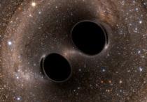 Изучая снимок галактики Андромеды, специалисты, работающие с телескомом Чандра, обратили внимание на объект J0045+41, который, по всей вероятности, является парой рекордно близко расположенных друг к другу черных дыр
