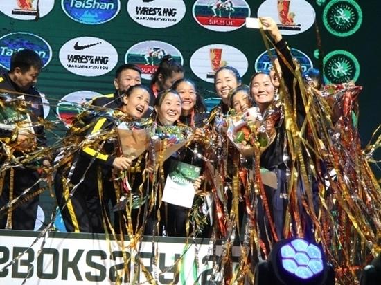 В Чебоксарах прошел Кубок мира по вольной борьбе среди женщин
