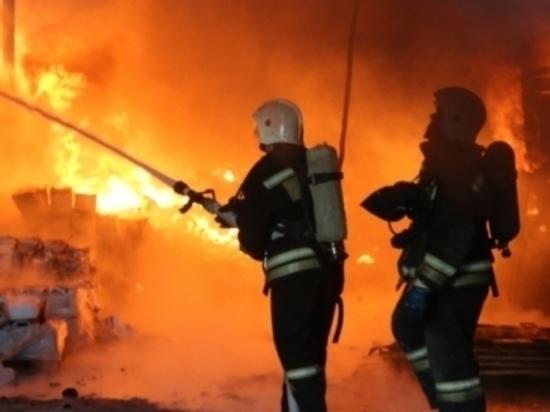 При пожаре в частном доме Калачевского района погибли дети