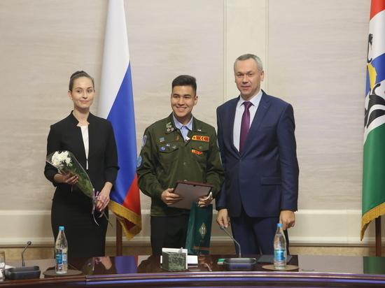 Новосибирское движение студотрядов отметило 55-летие