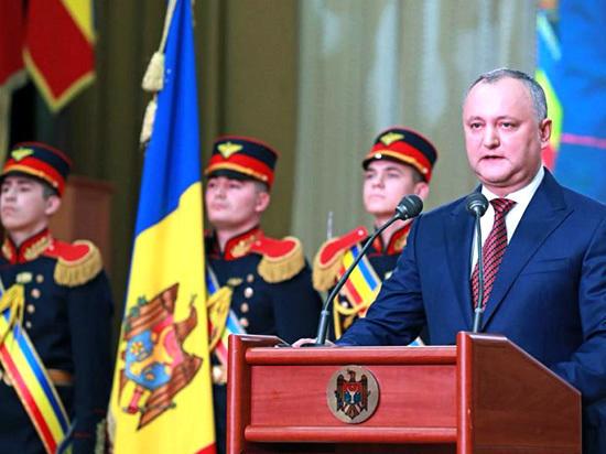 Игорь Додон: «Молдаване всегда стремились быть хозяевами на собственной территории»