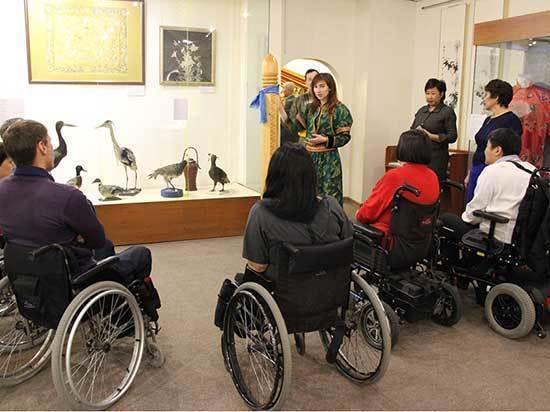 В Бурятии учреждения культуры стали более доступны для инвалидов
