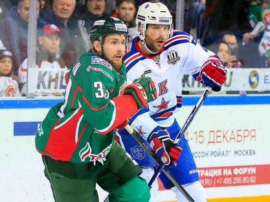 В битве лидеров «Востока» и «Запада» КХЛ СКА взял реванш у «Ак Барса»