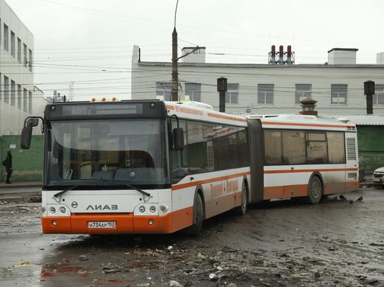 Простой автобусов-«гармошек» обходится Нижнему Новгороду дорого