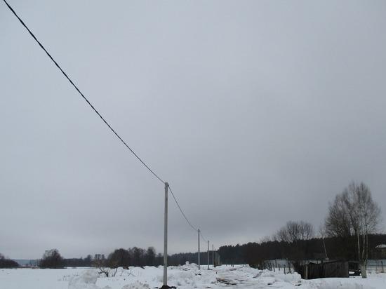 Филиал «Владимирэнерго» повышает надежность электроснабжения сельских населенных пунктов восточной части Владимирской области