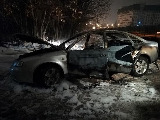 Водитель-лихач сжег машину после того, как сбил насмерть пенсионера