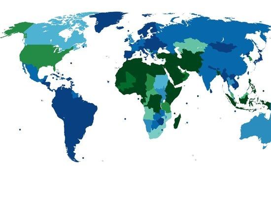 Опубликована карта популярности мужского обрезания в мире