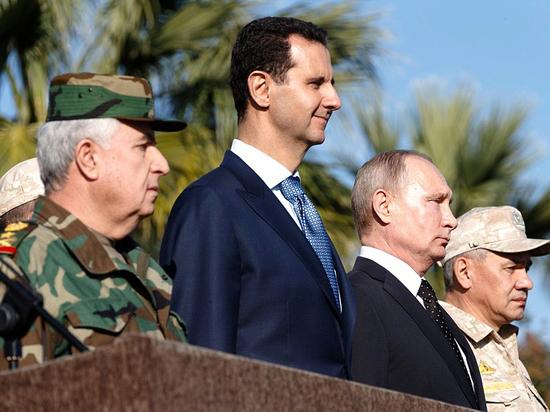 Супервояж Путина: одной поездкой президент поразил три ближневосточные «цели»