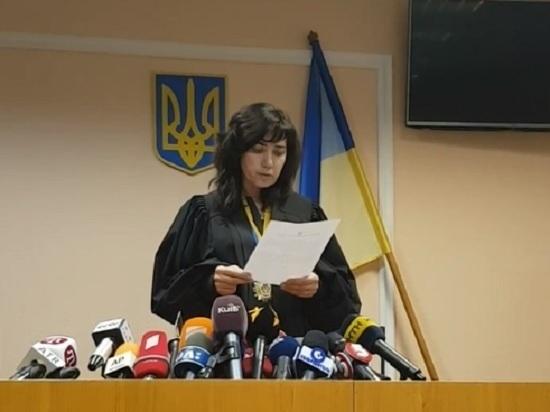 Судье в Киеве, отпустившей