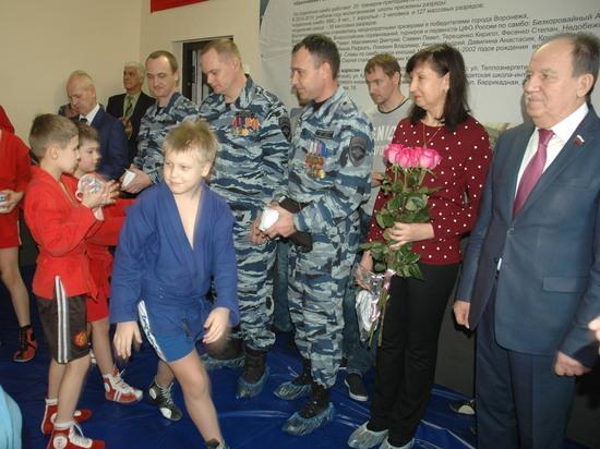 В Воронеже в обновленном зале единоборств прошли первые официальные соревнования