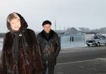 Татьяна Вижевитова проверила пост контроля на омской трассе