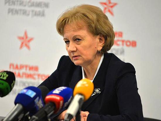 Зинаида Гречаный:  «Мы гордимся всенародно избранным президентом»