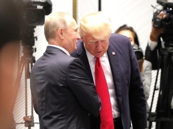 Трамп поблагодарил Путина: президенты США и России провели телефонные переговоры
