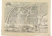 Один из самых ранних планов Москвы — фактически навигатор на бумаге — продадут 19 декабря на торгах Аукционного дома «Город муз»