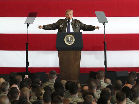 Трамп провозгласит курс на военное сдерживание России и Китая