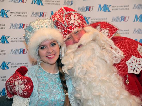 Главные Дед мороз и Снегурочка страны ответили на вопросы читателей