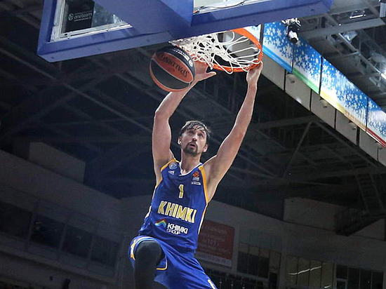 Баскетболист-именинник Алексей Швед готовит холодный прием для стамбульских гостей