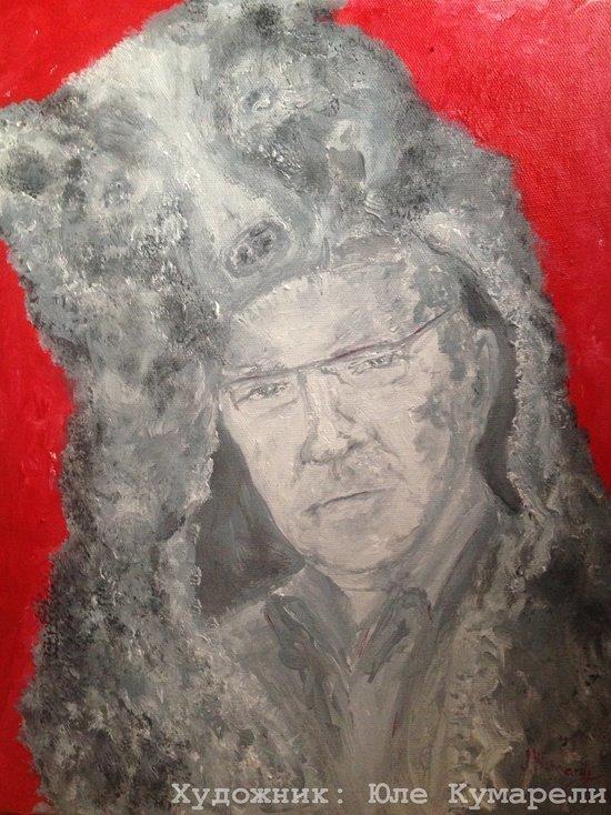 Питерская художница написала портрет врио губернатора Красноярского края Александра Усса