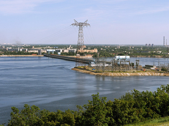 Саратовская ГЭС отмечает свой полувековой юбилей