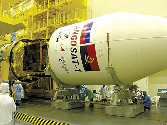На Байконуре завершена сборка космической головной части РКН «Зенит-3SLБФ»
