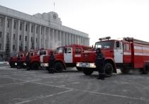 Омский нефтезавод подарил региональному правительству пожарные машины