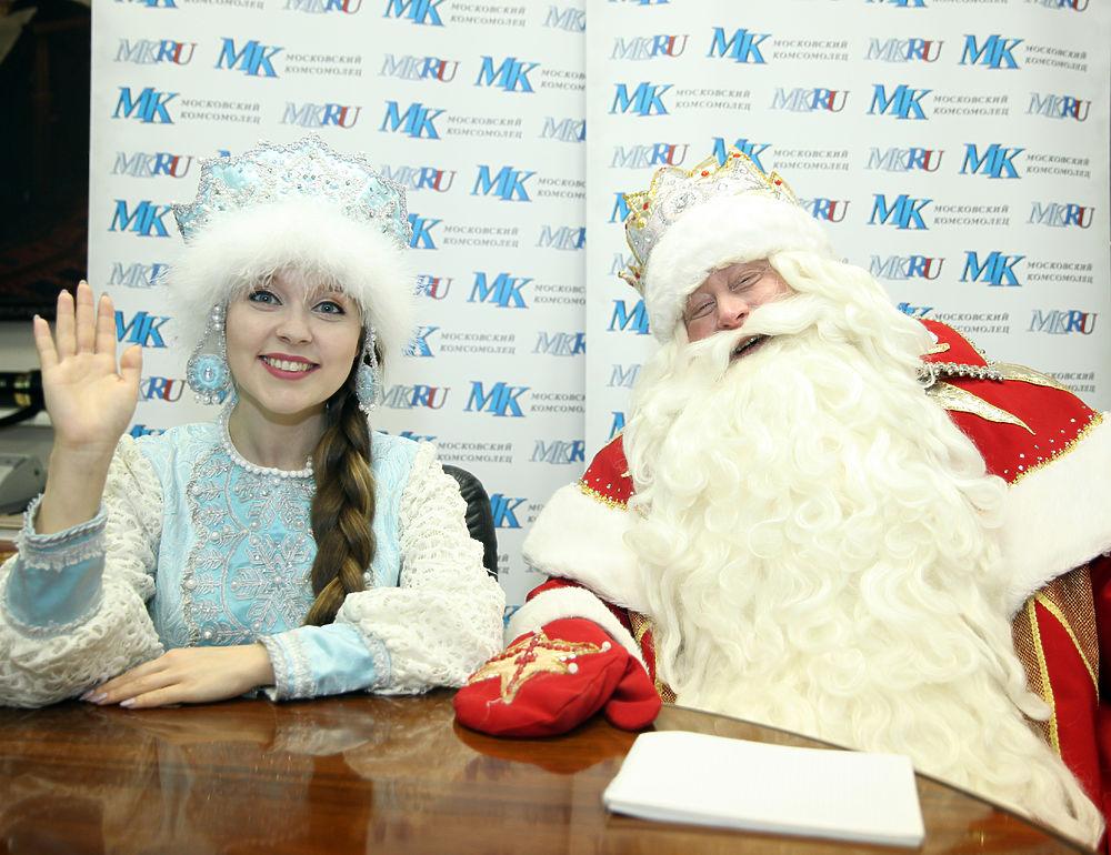 """Дед Мороз в """"МК"""": как правильно загадывать желания"""