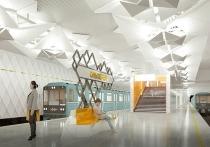 Внешний облик двух новых станций столичного метро разработали архитекторы