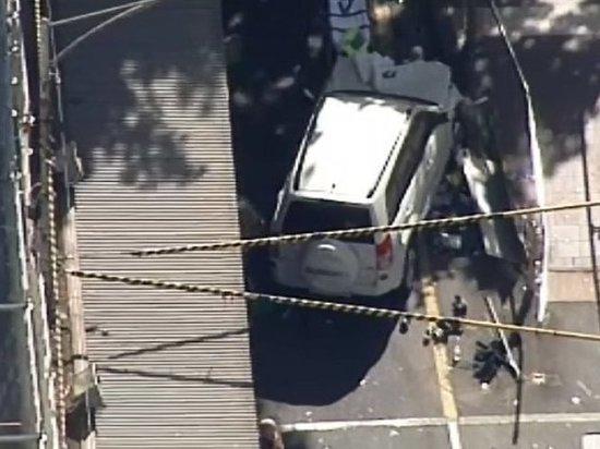 В Австралии водитель давил пешеходов: 19 пострадавших
