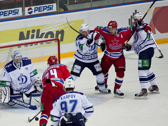 Хоккей, КХЛ, «Динамо» - ЦСКА: гонка за лидером